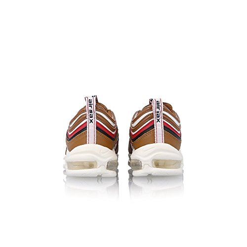Nike Mens Air Max 97 Tt Prm Shoe Pull Tab Marrone / Vela / Nero Bianco-rosso-marrone