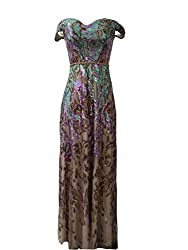 As Picture-1 Long Sequin Mermaid Dress
