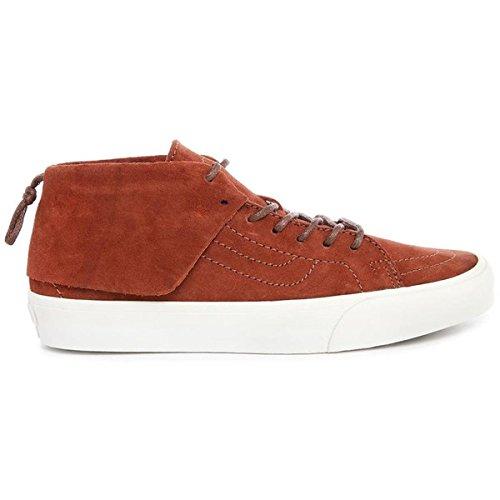 バラ色肌寒いジャム(バンズ) VANS メンズ シューズ?靴 スニーカー Sk8 Hi Mid Moc California Earth-Coloured Suede Sneakers 並行輸入品
