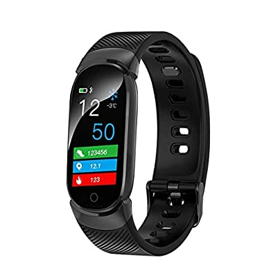 Lynn025Keats Colorful Sreen Smart Wristband Band amp Heart Rate Monitor Waterproof Fitness Bracelet Sleep Tracker Estimated Price £20.52 -