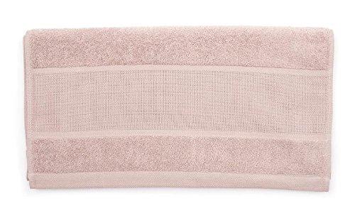 Toalla Pale Pink con Aida cenefa para bordado en punto de cruz gezählten: Amazon.es: Hogar
