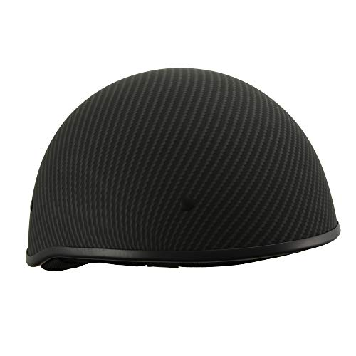 Milwaukee Performance Helmets Men's Size half helmet MAT BLACK L