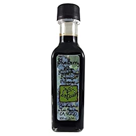 Barrel Aged Balsamic Vinegar 1 Made with 100% real fruit, no artificial or natural flavors Base vinegar has highest percentage of grape must resulting in natural sweetness and high viscosity Great health benefits, naturally vegan and gluten free