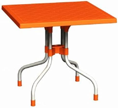 Compamia Forza 31″ Square Folding Patio Dining Table