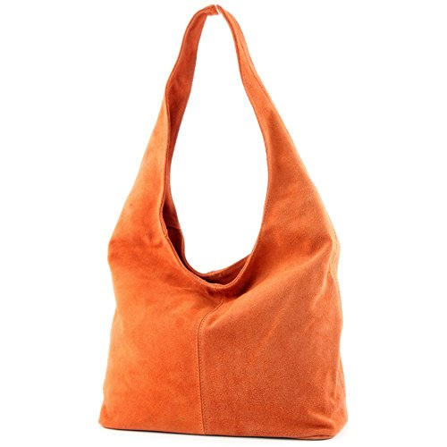 Tracolla Pelle Orange Borsa In T150 Wildleder Dirstasche A t8taA