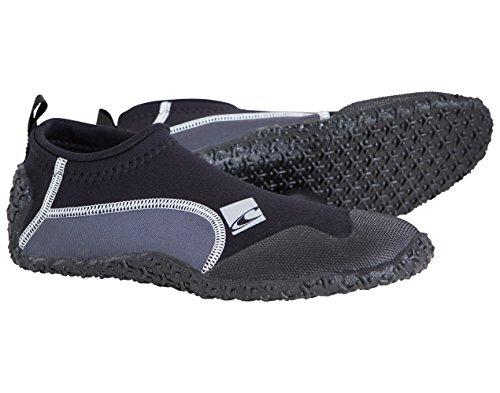 trajes A81 WETSUITS Negro adultos Coronel de thermonuclear Coal Zapatos Botas neopreno Blk ONEILL Reef aBFqAxwTA
