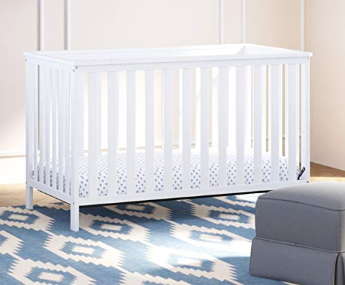 41LuiYsSCIL - Storkcraft Rosland 3-in-1 Convertible Crib - White