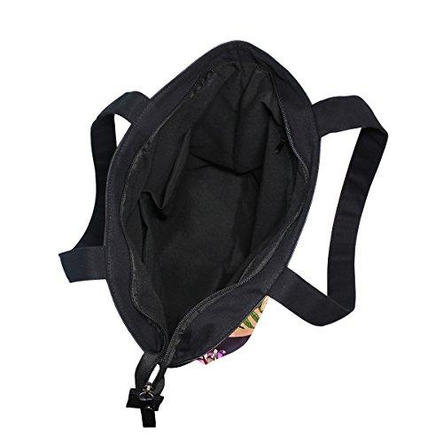 Bag Canvas Cat Shoulder Tote Handbag Style MyDaily Womens Flower Boho qtx5Tn