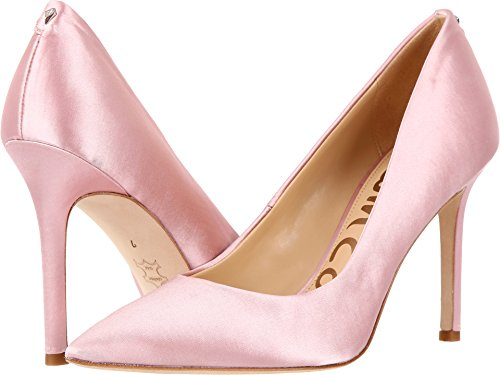 Sam Edelman Women's Hazel Dress Pump, Pink Nude Satin, 9.5 M US