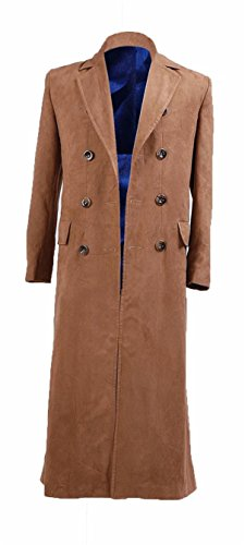 Gambit Costume Halloween (YANGGO Dr Men's Colorful Fashion Long Trench Coat Costume (Men Medium,)