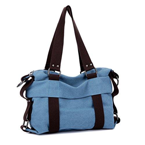 Museya - Bolso al hombro para mujer azul azul