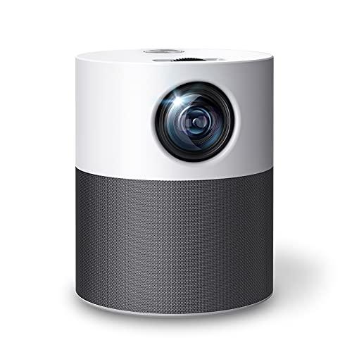 "Proyector WiFi Bluetooth Full HD Nativo 1080P, Mini Proyector 250"" 6000 Lúmenes,Proyector Video Compatible con TV Stick…"