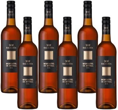 Moscatel Bacalhoa - Vino Fortificado- 6 Botellas