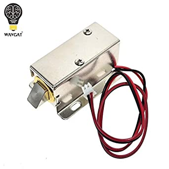 Electronic Components & Supplies Dc 12v Electric Solenoid Lock Tongue Upward Assembly For Door Cabinet Drawer Attractive Designs;