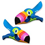 O2COOL Toucan Boca Clips by Beach Towel Holders