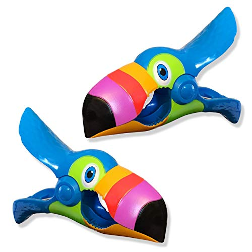 O2COOL Toucan Boca Clips by Beach Towel Holders (Uk Sets Patio Cheap)