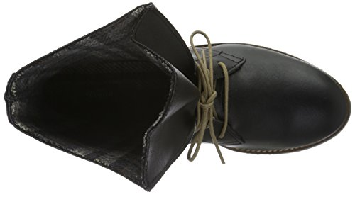 Jonny`s Vegan Dagmar, Zapatillas de Estar por Casa para Mujer Negro - negro (Negro)