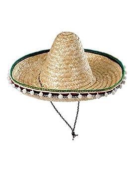 Sombrero mejicano adulto 55cm - Beige 0e1c98df236