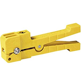 "Ringer Cable Stripper for up to 0.12"" Non-Round Shielded Cables, .0060"" Cutting Depth K-6493 Blade Included"