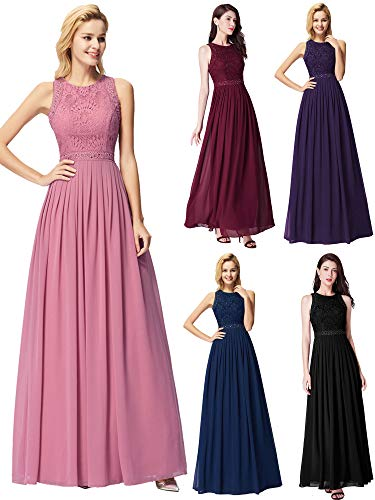 Ever-Pretty Women's A-Line Wedding Party Bridesmaid Dress Orchid US10