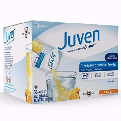 Juven Therapeutic Nutrition Drink Mix – Orange, 30 Packets