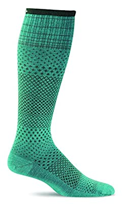 Sockwell Women's Micro Grade Graduated Compression Socks-Ideal for-Travel-Sports-Nurses-Pregnancy-Reduces Swelling