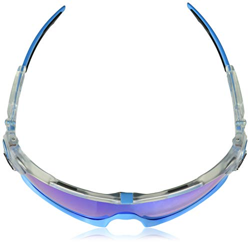 Blanco ban Transparente 1 Rectangulares De Gafas Jawbreaker Ray Sol HqPxgCww
