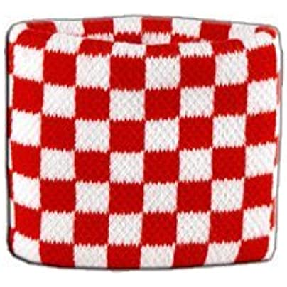 Digni reg Checkered red-white Wristband sweatband Set pieces free Digni reg sticker Estimated Price £6.95 -