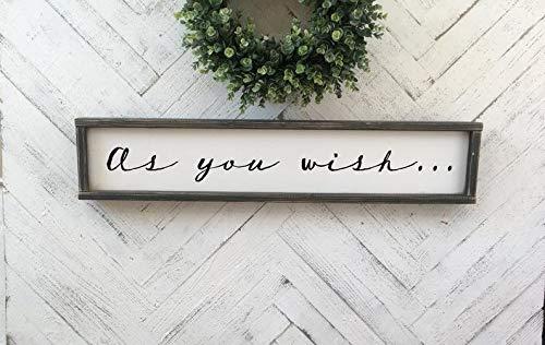 CELYCASY As You Wish. William Goldman - Cartel de Madera ...