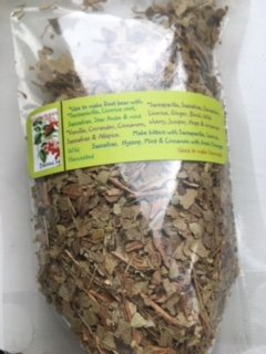 Dried herb ~ 1/2 oz Cut Wintergreen ~ light aroma ~ Ravenz Roost herbs with special info on label (Beer Root Wintergreen)