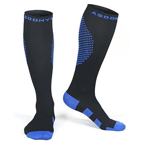 Knee Length Graduated Compression Stockings - 2
