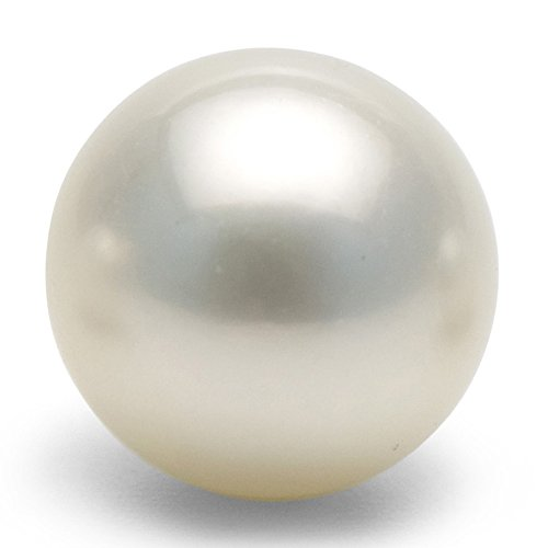 Japanese White Akoya Loose AAAA Cultured Pearl 6mm Half Drilled for Pearl Earrings Pendants or Rings