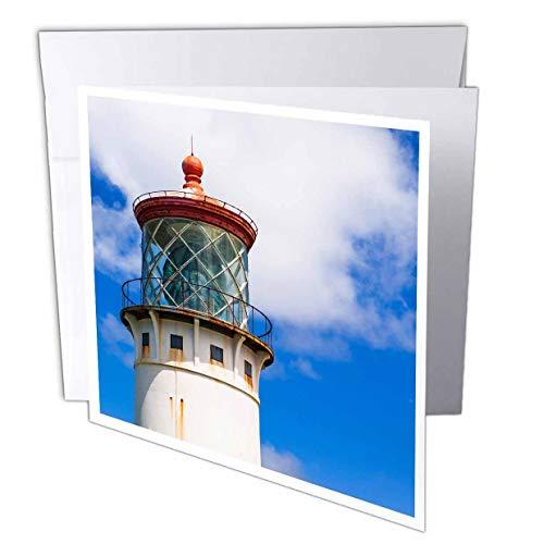 Kilauea Point - 3dRose Danita Delimont - Hawaii - Kilauea Point Lighthouse, Island of Kauai, Hawaii, USA - 1 Greeting Card with Envelope (gc_314811_5)
