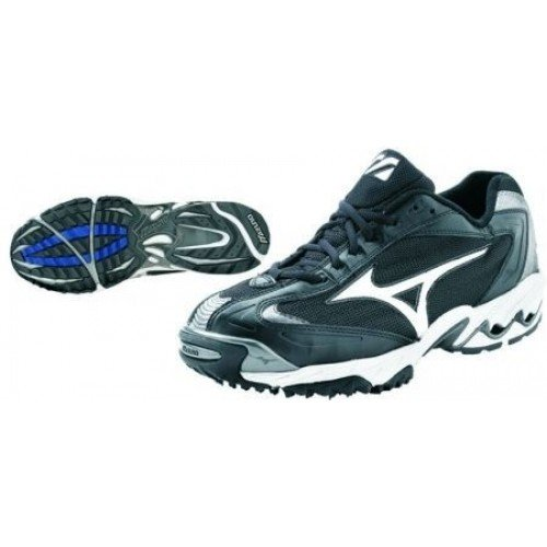 Mizuno Men's Speed Trainer G3 Switch Training Shoe,Black/White,12.5 M US (Mizuno Mens Training Shoes Cross)