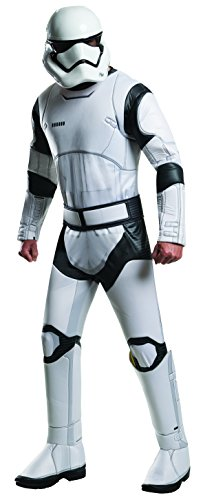 (Rubie's Men's Star Wars 7 The Force Awakens Deluxe Villain Trooper White Costume, Multi, Standard)