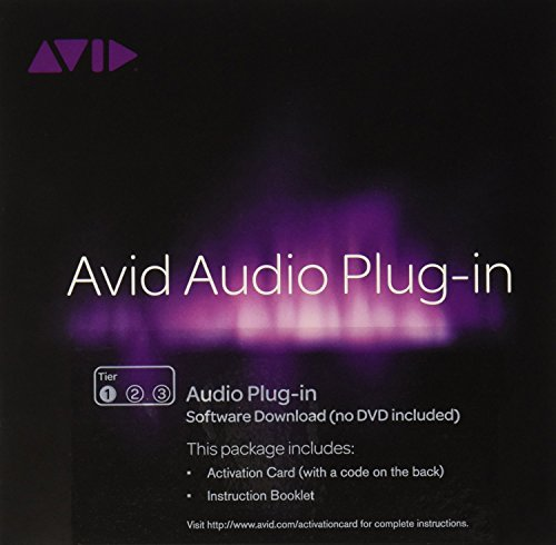 Pro Tools Tier 1 Audio Plug-In for PC and Mac Activation Card Windows|Mac 99006543700