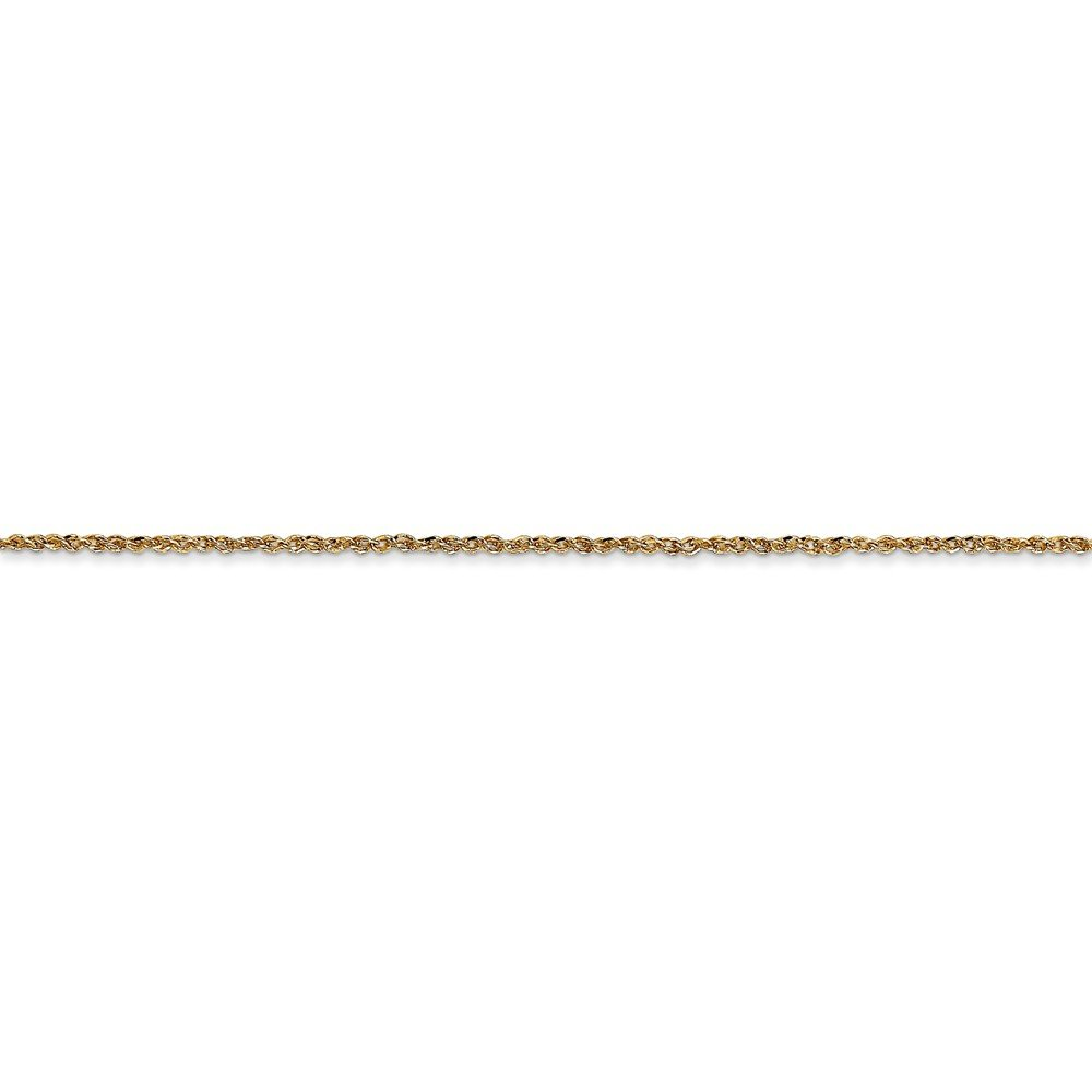 14k Yellow Gold 1.1mm Ropa