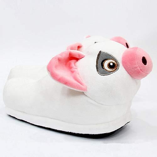 Animal En Cochon D'hiver Pantoufles Peluche 03 Intérieur Furry Bottes Cartoon Modèle Adulte De Maison Unisexe Chaussures Mignon 0OqwI6p6