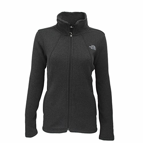 The North Face Womens Crescent Full Zip - TNF Black Heather - (North Park Zip)