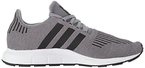 Scarpa Da Running Adidas Uomo Swift Grigio Tre / Core Nero / Grigio Medio Melange