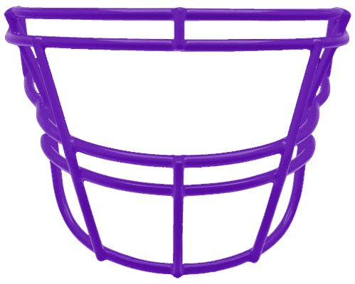 Schutt Sports DNA EGOP II Carbon Steel Varsity Football Faceguard, Purple, Small/Large (Egop Face Mask)