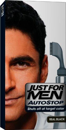JUST FOR MEN Autostop Couleur des cheveux, le Real Noir