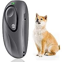 Dispositivo de disuasión ultrasónico de la corteza del perro de YC°, dispositivo anti ladridos 2 en 1 herramienta de…
