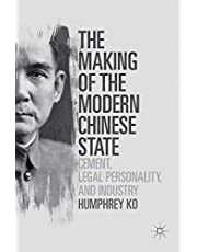 The Making of the Modern Chinese State: Cement, Legal Personality and Industry