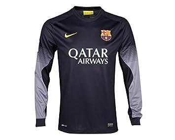Camiseta FC Barcelona Portero 1ª 2013-14  Amazon.es  Deportes y aire libre ecf36eb890a46
