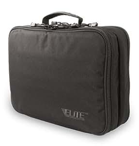 Elite Survival Four Gun Pistol Pack Range Bag, Black