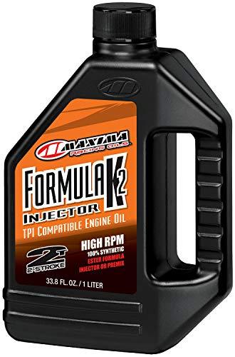 - Maxima Racing USA 20-22901 Formula K2 Synthetic Racing 2-Stroke Injector Oil, 1. liters