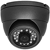 HDVD™ HDV-SC10ERFO 720P 1.3 Megapixel HD SDI CCTV Security Surveillance eyeball dome Camera 3.6mm Lens 24IR (upto 60ft) DC 12V