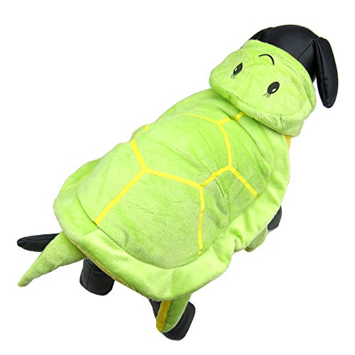 Halloween Trick Or Treating Safety Tips (Alfie Pet - Felix Tortoise Pet Costume - Color: Green, Size:)