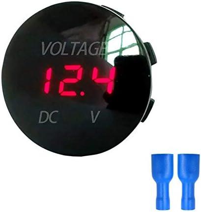 5-48 v Auto Marine Motorrad Led Digital Voltmeter Spannung Meter Batterie xj